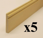 1380PL Deep Victorian Skirting Boards pack